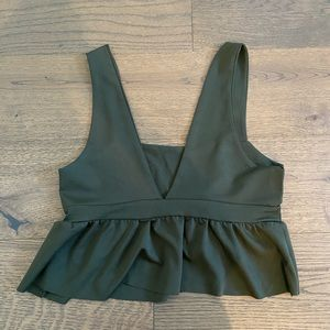 Zaful crop top tank top